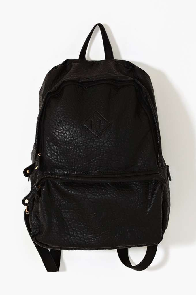 cute backpack, but not sure if it will hold a laptop. on Nasty Gal