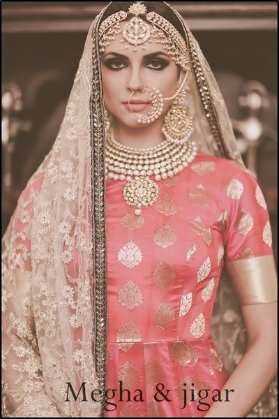 nose ring, nathni, large earrings, chaand baali, matha patti, pearl nosering, bridal necklace, choker