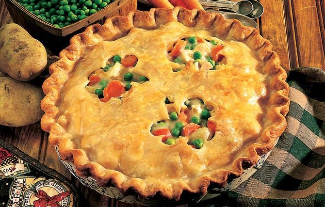 Deep-Dish Chicken Pot Pie - This hearty pot pie is a perfect ...