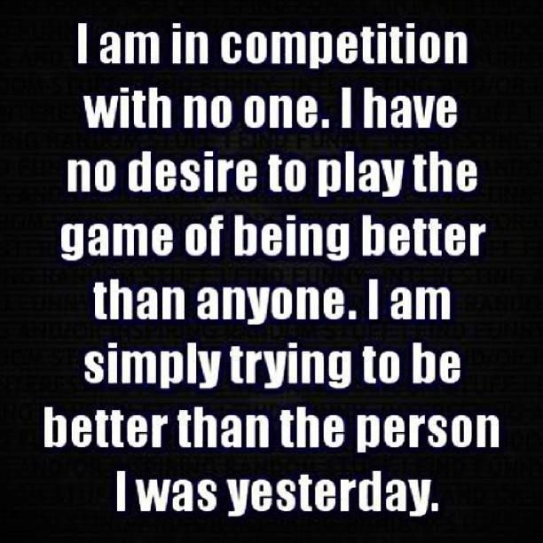 life is not a competition Quotes Pinterest Life