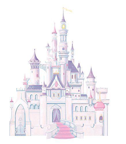 Amazon.co.jp: ディズニー シンデレラ城 ウォールステッカー/ルームメイト(Room Mates): ホーム&キッチン