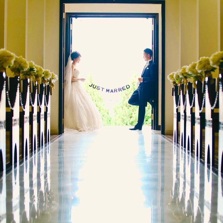 チャペル前撮りで撮りたいウェディングフォトポーズ8選 | marry[マリー]
