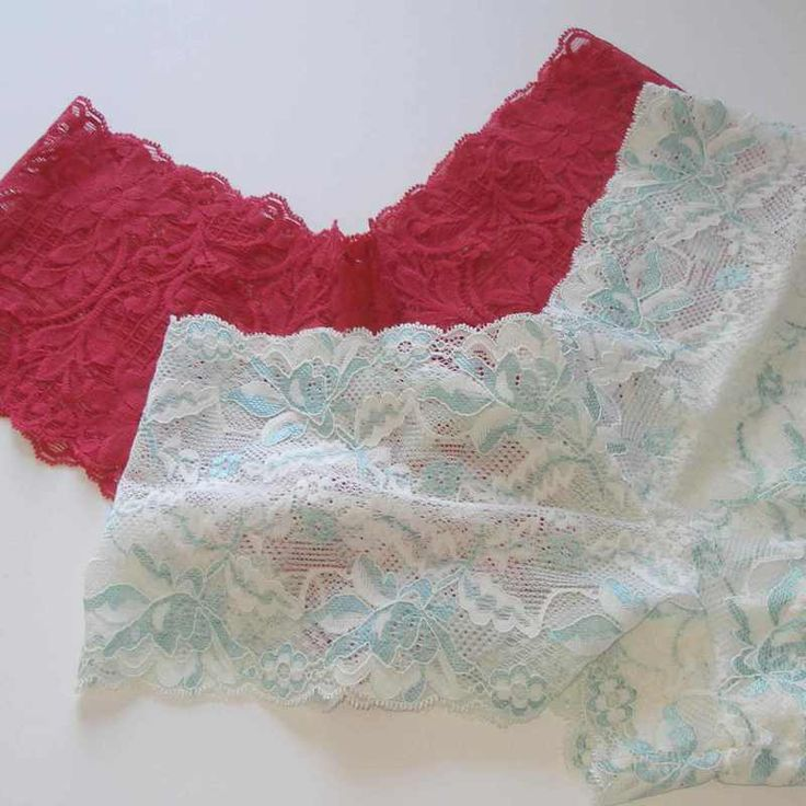 Sew your own lace underwear - tutorial and free pattern
