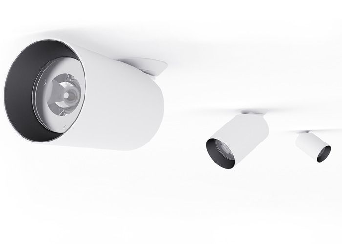Brightgreen | D900 SHX Curve - Surface-mounted LED downlight for interiors.