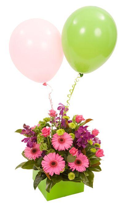 Arrangement With Balloons