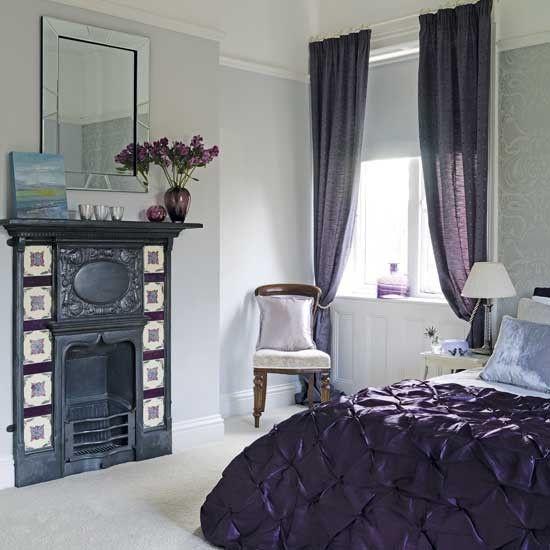 Purple :) Plus gotta love the Fireplace, Cozy <3