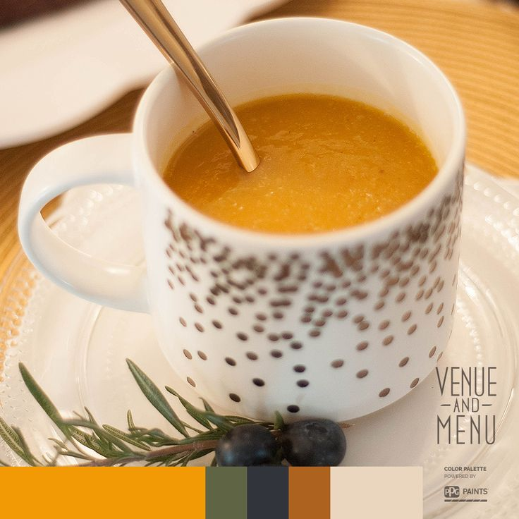 PALE ALE & CHEDDAR BUTTERNUT SQUASH SOUP - Inspired by the Pineapple Inn's kitchen  #VenueandMenu