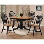 , Charming Black Rectangle Modern Wooden Cheap Dining Chairs Stained Design: