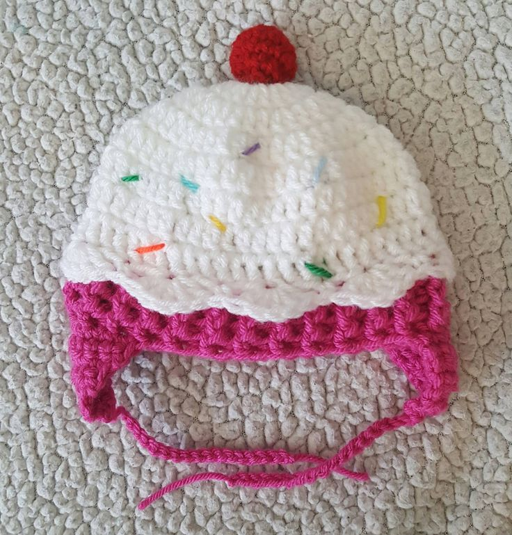 Cupcake Knitting Pattern Easy : 25+ best ideas about Crochet cupcake hat on Pinterest Crochet cupcake, Croc...