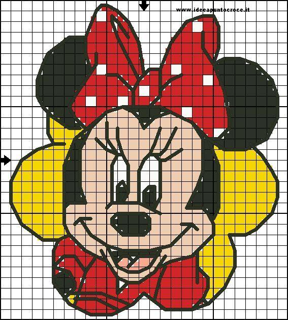 minnie cross stitch by syra1974 on DeviantArt