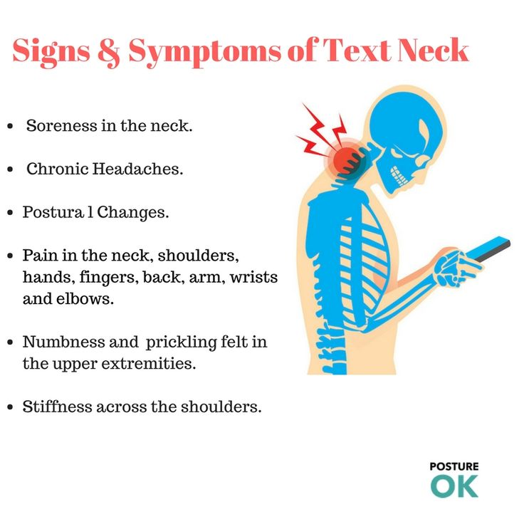 """Text Neck is the word used to explain the neck pain that occurs by looking down at your mobile phone, tablet, or different remote gadgets too often and for a long time that affect the <a href=""""http://postureok.com/our-services/"""">back posture</a> too"""