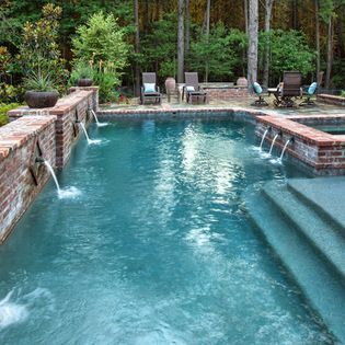 1640 best Awesome Inground Pool Designs images on Pinterest ...