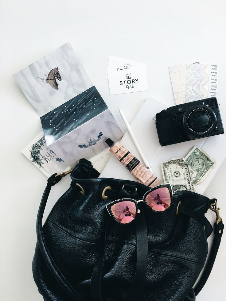 Travel flatlay | content by The Story of Us