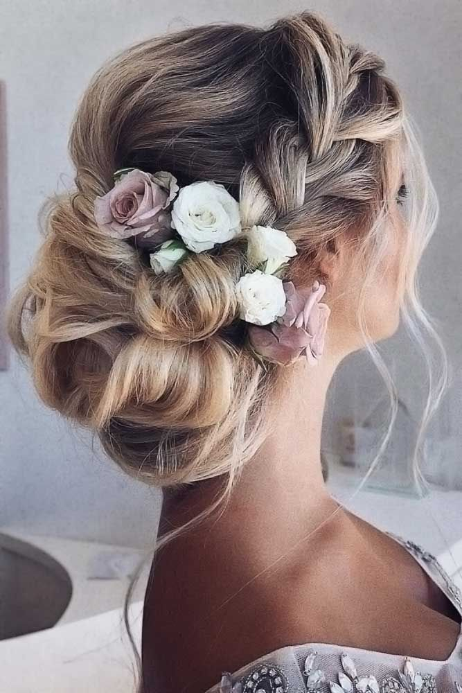 60 Sophisticated Prom Hair Updos – #event #hair #p…