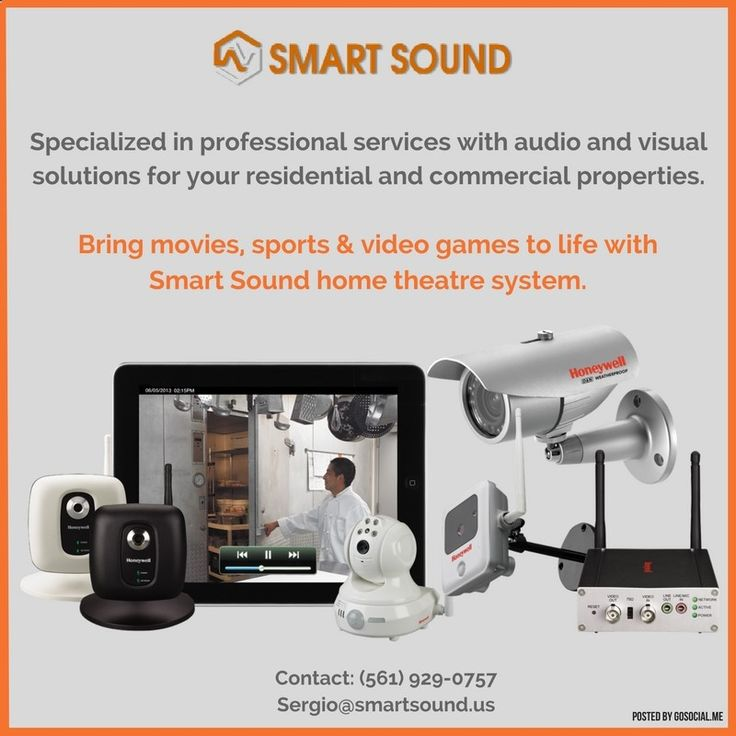 #smart #sound #audio #video #alarm #automation #florida #bocaraton #mizner #pompano #boca #deerfield #bose #samsung #authorized #colors #safe . Bring movies, sports & video games to life with Smart Sound home theatre system. Smart Sound makes your life more enjoyable and convenient by integrating video, sound and security devices into daily use in your business or home. You can play music and movies anywhere in your home or stream to just one particular area. We have hands-on experienc...