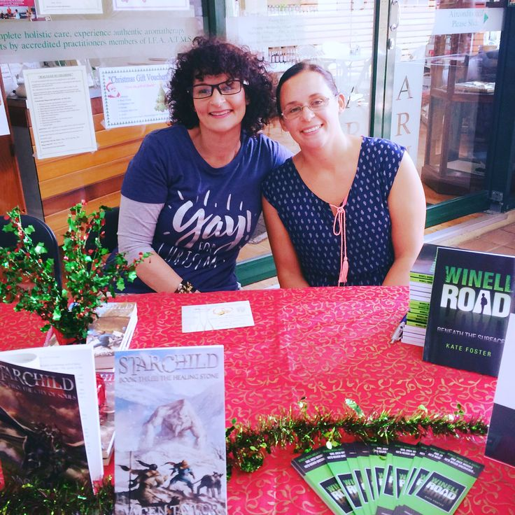 Book signing at Big B Books... Me and Kate Foster. :)