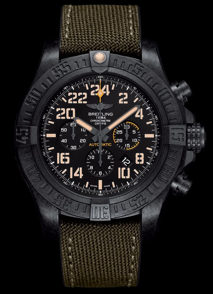 Avenger Hurricane Military - Breitling - Instruments for Professionals