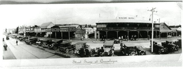 Historic images. Queanbeyan Library