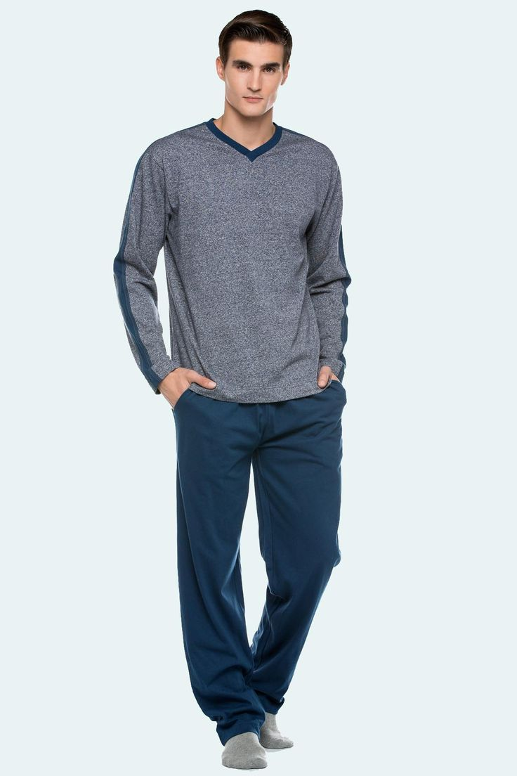 Pijama algodón invierno Punto Blanco modelo  NUANCE