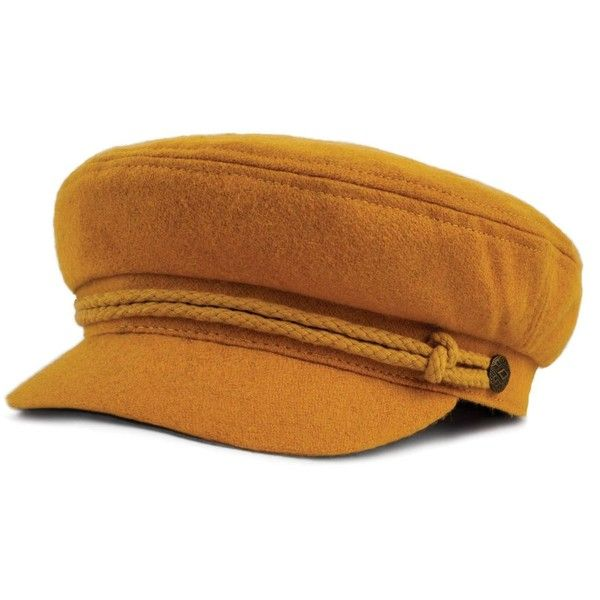 ASHLAND CAP ($42) ❤ liked on Polyvore featuring accessories, hats, logo cap, metal cap, logo hats, cap hats and rivet caps