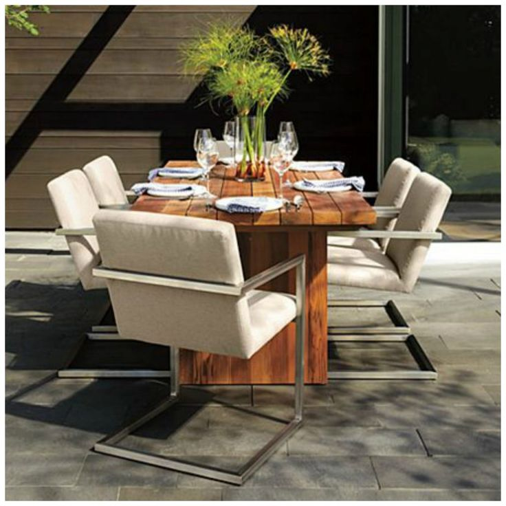room and board outdoor dining chairs