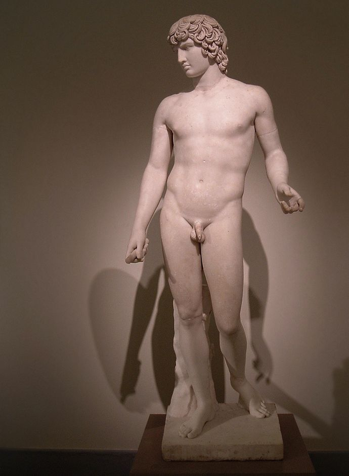 Something is. Greek male nude statues magnificent idea