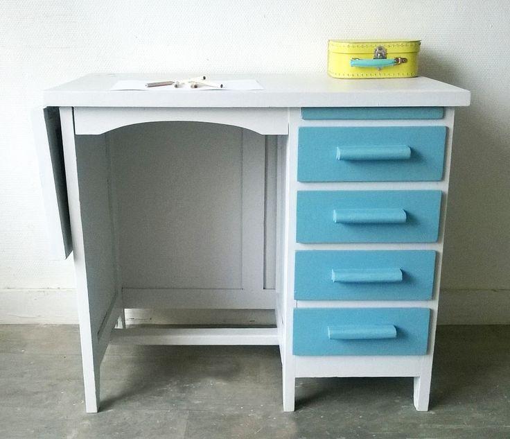 Un joli petit bureau d 39 colier vintage espaces b - Petit bureau vintage ...