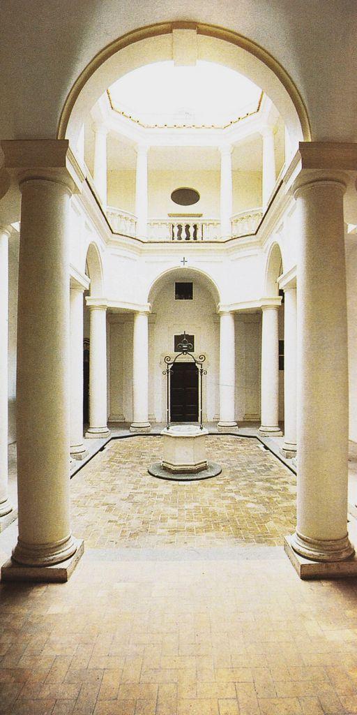 Francesco Borromini - San Carlo alle Quattro Fontane - Cortile - 1638-1641