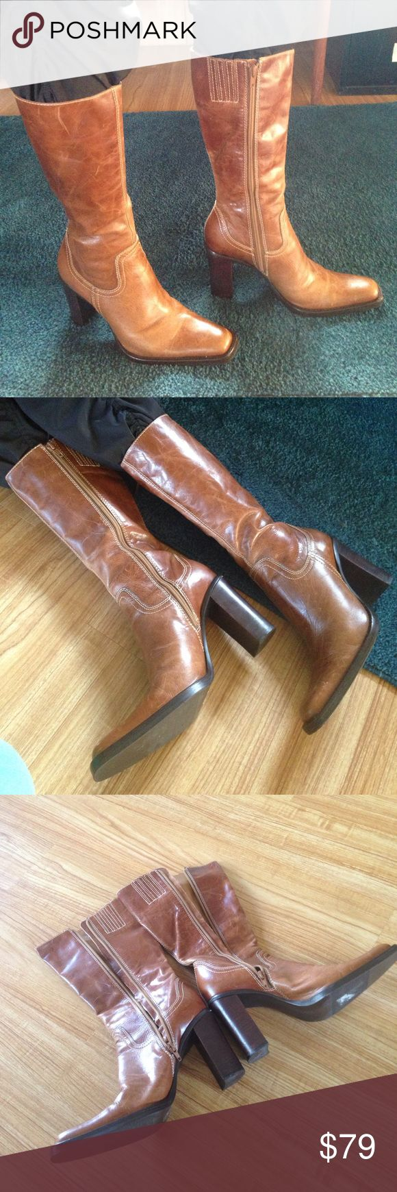 Sale Today -Steve Madden Worn in great condition True to size.Price Is Firm Steve Madden Shoes Heeled Boots