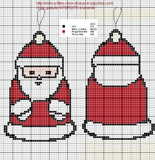 Cute Little Santa • both front and back