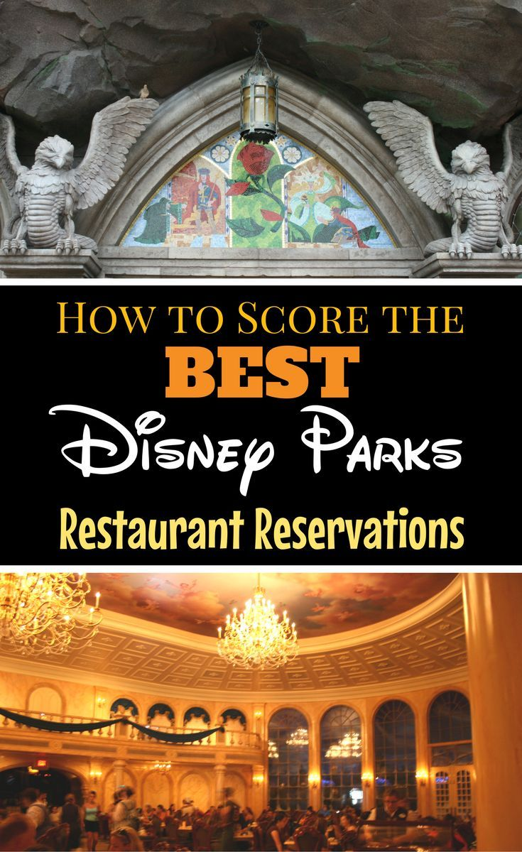 The best Disney Parks restaurants require Advance Dining Reservations. Find out how to score these most wanted Walt Disney World restaurant reservations!