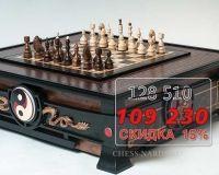 Шахматный стол ручной работы Династия