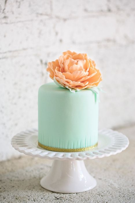 10 Single layer #wedding cakes