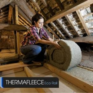 EcoRoll keeps your home insulated using sheep's wool.