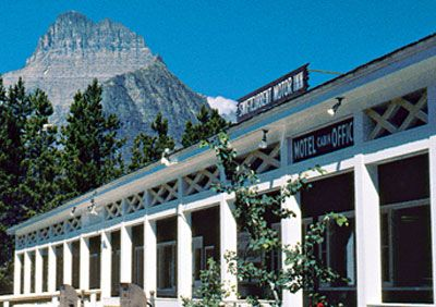Swiftcurrent Motor Inn, Glacier National Park.  A perfect, timeless place to stay.