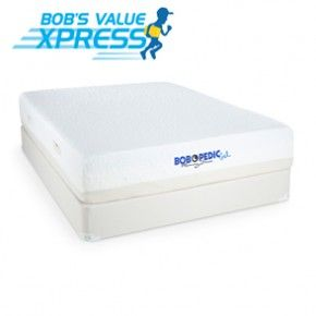 Bob O Pedic Gel Queen Mattress Four walls