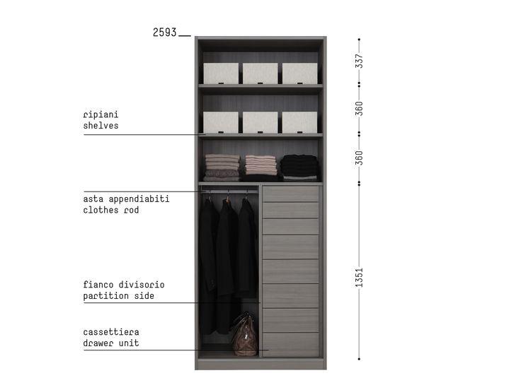 Porro Spa | Prodotti | Sistemi | Organizzare l'interno/ Organize the interior