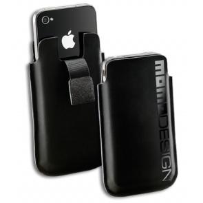 HUSA MOMODESIGN MOMOSLIPHONE4BK BLACK SLEEVE PT. IPHONE4/4S
