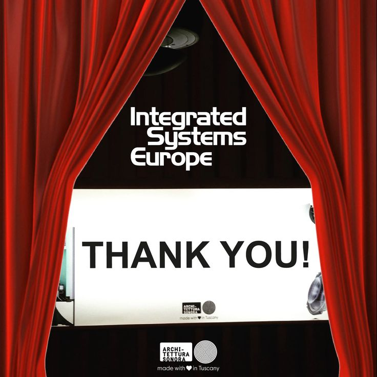 Thank you for being part of #ISE2017 #ArchitetturaSonora's success! What an event! See you next year, save the date: #ISE2018 > 6-9 February 2018