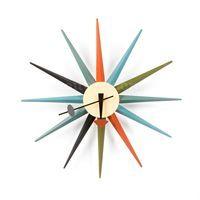George Nelson Style Starburst hodiny