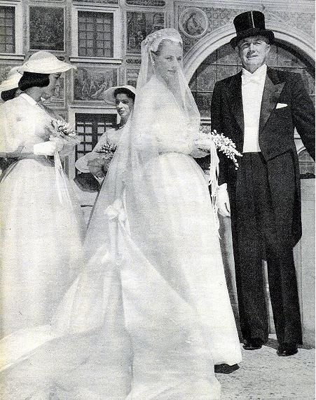 Princess Grace and her Father, John B. Kelly, Sr..