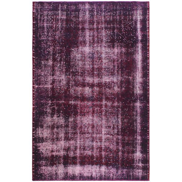Carpet Edition Vintage burgundy rug (8,655 CNY) ❤ liked on Polyvore featuring home, rugs, home & gardendecorrugs, burgundy area rugs, maroon rug, burgundy rugs, cotton rugs and cotton area rugs