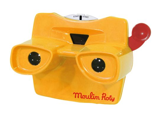 Moulin Roty viewmaster Les histoires du soir 711090. Ο θεατής μπορεί να παρακολουθήσει 3D εικόνες. Περιλαμβάνονται 3 ιστορίες στο σετ.