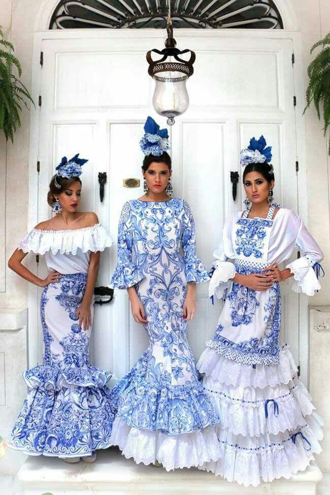 Portuguese blue tile translated to fashion