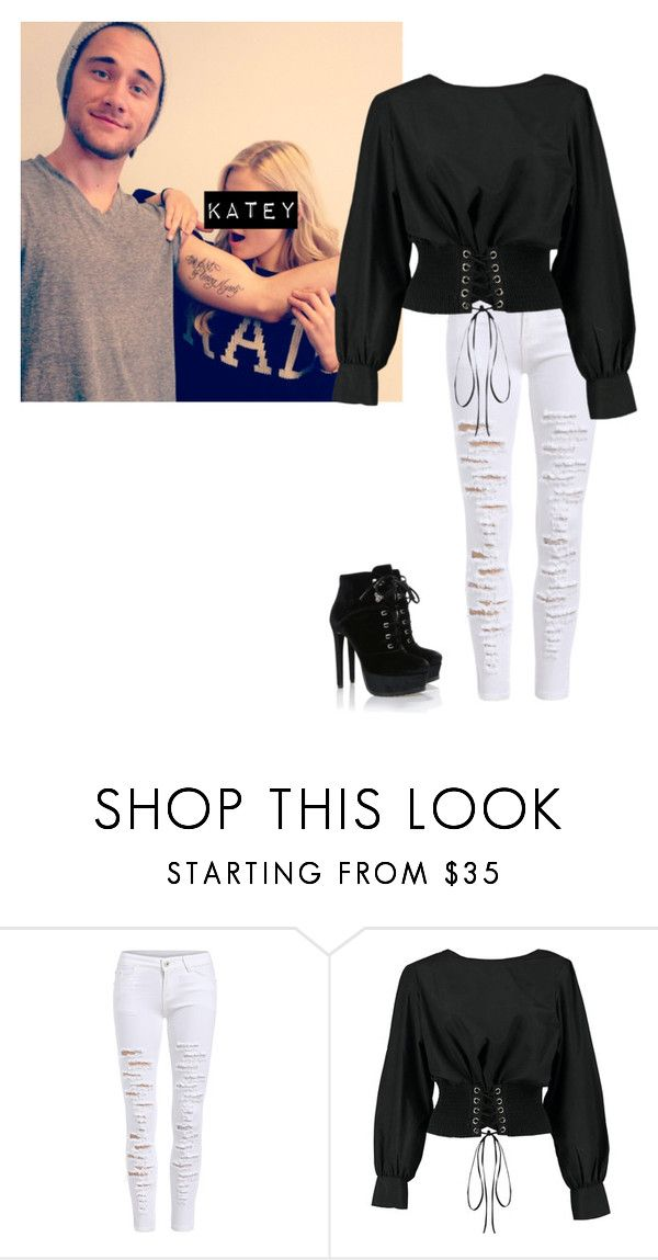 """Luke Benward's New Girlfriend Katey"" by southernbutclassy ❤ liked on Polyvore featuring Boohoo"