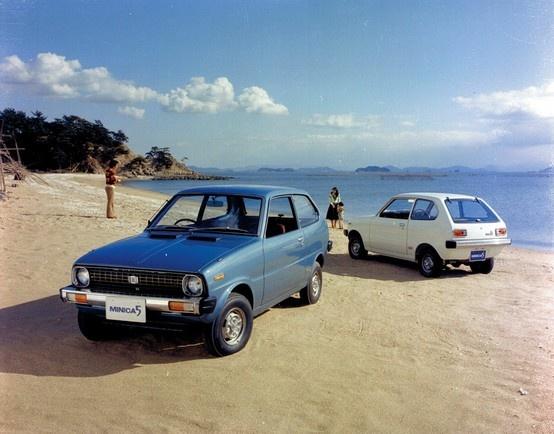 Mitsubishi Minica 5 (1976)