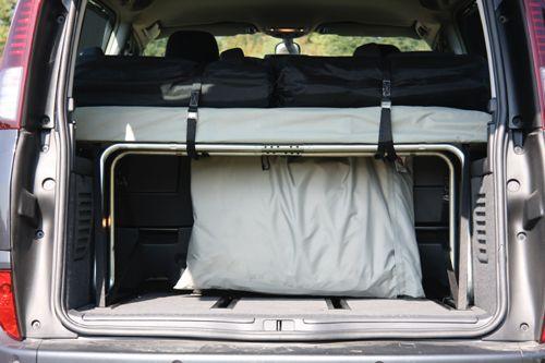 ensemble lit pli au dessus du coffre pour amenagement voiture en camping car v hicule. Black Bedroom Furniture Sets. Home Design Ideas