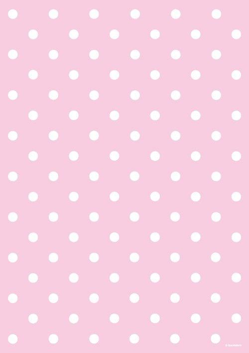 pink polkadot wrapping paper | Polka Dot Light Pink ...