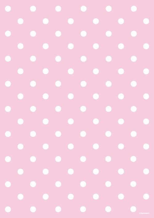 pink polkadot wrapping paper | Polka Dot Light Pink
