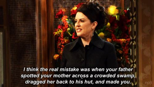 "Insulting people is her specialty (specifically ones that involve your parents). | Community Post: 26 Brilliant Karen Walker One-Liners From ""Will & Grace"""